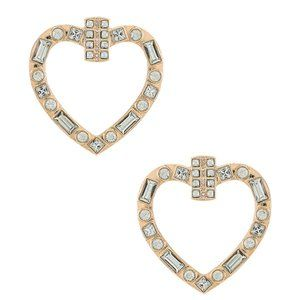 NEW 8 Other Reasons Heart Throb Hoops in Clear